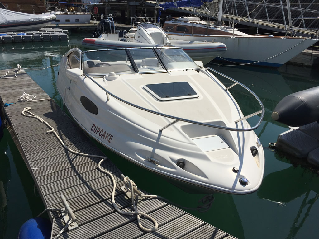 Sending Us Pictures - Exterior shot of a speedboat