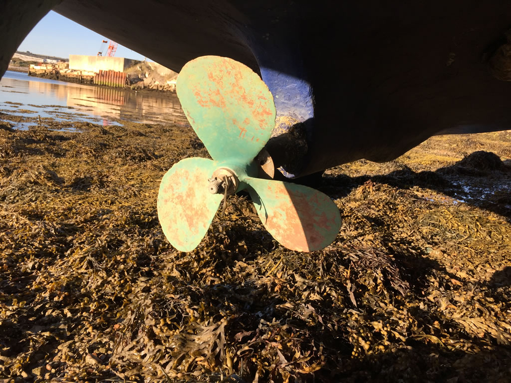 Sending Us Pictures - A shot of a propeller